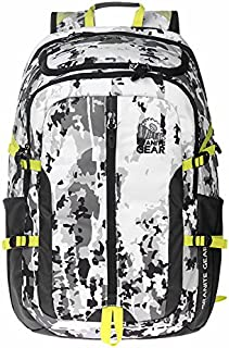 GraniteGear Hiking Backpack Swiss Backpack Travel Backpack School Backpack Daily Bag Backpack 1000030-0007 (Black/Grey)