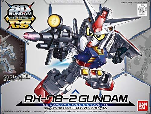 SDガンダム クロスシルエット RX-78-2 ガンダム & クロスシルエットフレーム セット 色分け済みプラモデル