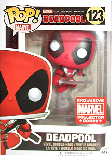 Funko - Figurine Marvel - Deadpool Collector Corps Exclusive