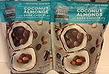 Edward Marc ( 2 PACK ) Dark Chocolate Coconut Almonds, 32 oz. Each Bag