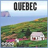Quebec 2021 Calendar: Official Quebec Canada Calendar, 18 Months calendar 2021