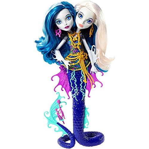 Monster High - Muñeca serpentina peri y perla