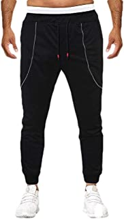 MK988 Men's Gym Trainning Jogger Trousers Harem Trousers with Zip Deco Casual Sweatpants Pants Trousers