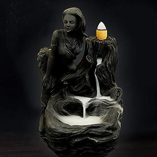 女神香炉煙逆流タワー香炉香炉香炉ホルダー香炉ホームデコレーション
