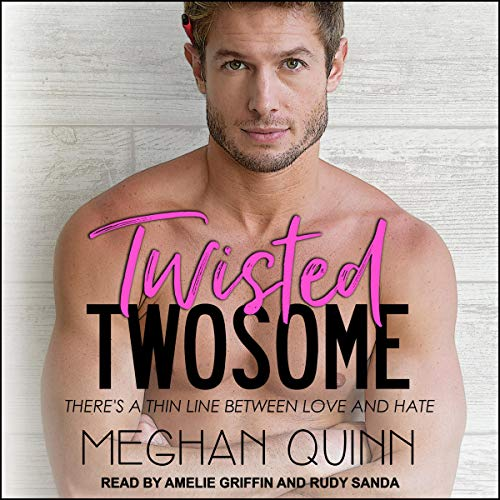 Tangled Twosome audiobook cover art