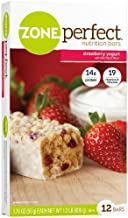 Zone Perfect All Natural Nutrition Bar, Strawberry Yogurt, 1.76-Ounce Bars in 12-Count Boxes (Pack of 2)