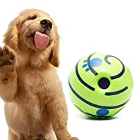 Keeps dogs entertained by engaging their natural instincts to play. Fun for small or medium dogs under 50cm. When the ball moves, it produces a unique giggle sound that will excite and delight your pup, enticing them into longer, more rewarding play ...
