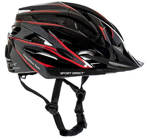 Sport Direct™ Herren Fahrradhelm Team Comp 24 Vent Graphit 58-61 cm CE EN1078:2012+A1:2012 thumbnail