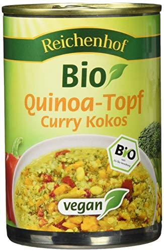 Reichenhof Bio Quinoatopf Kokos-Curry vegan, 6er Pack (6 x 400 g)