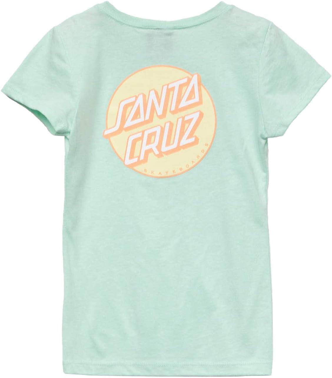 Santa Cruz Other Dot Fitted Girls T-Shirt Mint