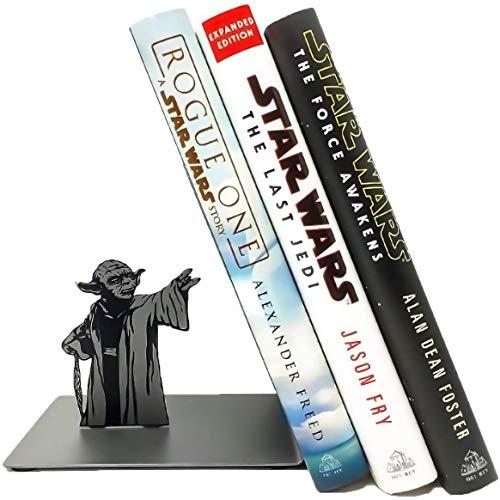 Wuhuayu Fermalibri Yoda, Fermalibri Star Wars, Supporti Fermalibri per Ufficio E Casa, Libreria Yoda The Force