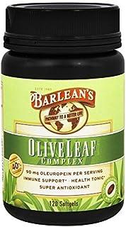 Olive Leaf Complex Barlean's 120 Softgel by Barlean's Organic Oils