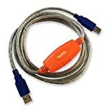 Image of Laplink 6' USB 3.0 SuperSpeed Transfer Cable for PCmover