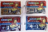 Cleanpot/Clean Pot Cleaner Luster Sponge Especially for Teflon (Package May Vary) Pack (4)