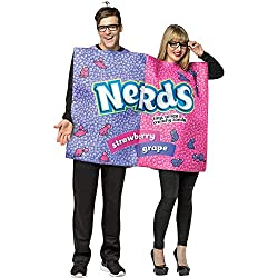 couple dressed as nerds candy in a couples costume from amazon