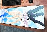 マウスパッドななつ の たいざいマウスパッドゲーミングマウスパッドHDプリントゲーマーマウスマットパッドPCラップトッププレイマット-90cmx40cm_(A)