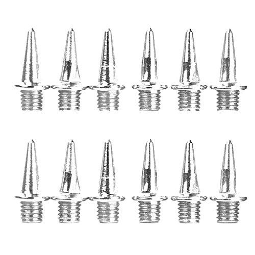 Baoblaze Dornen Spikes für Leichtathletik 12pcs Ersatznägel für Spikes, spitze Ausführung Spike Nägel - 13mm