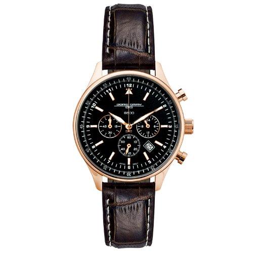 Jorg Gray Damen-Armbanduhr Chronograph Quarz Leder JG6500-62