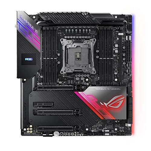 ASUS ROG Rampage VI Extreme Encore Scheda Madre Intel X299 E-ATX per CPU CoreX, 16 Fasi di Alimentazione, Wi-Fi 6 AX, LAN 10 Gbps, USB 3.2 Gen 2x2, 2x USB 3.2 Gen 2 frontali, SATA, 4x M.2