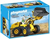 Playmobil Construcción - Cargadora Frontal, Juguete Educativo, 35 x 15 x 25cm, (5469)