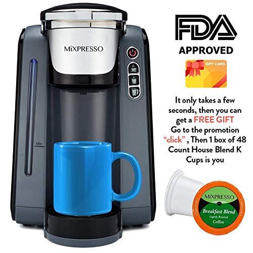 Mixpresso Single Serve K-Cup Coffee Maker