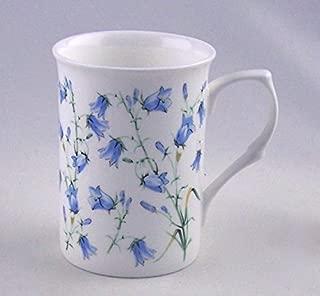 Fine English Bone China Mug - Harebell (Bluebell) Chintz - England