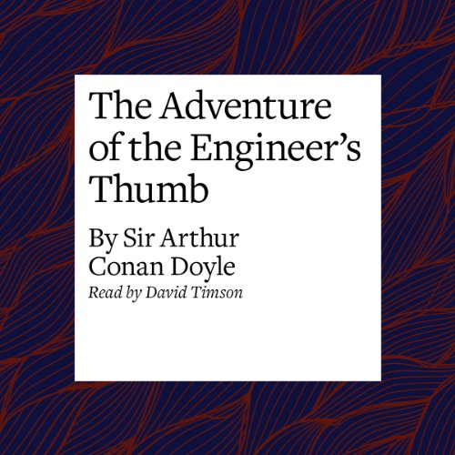 The Adventure of the Engineer's Thumb copertina