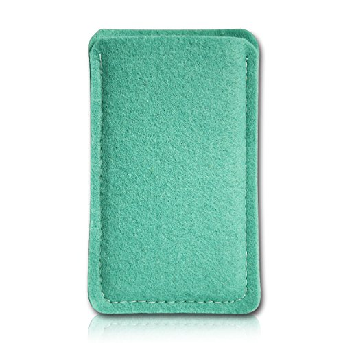 sw-mobile-shop Filz Style Lenovo Tablet A7-40 - 7 Zoll Filz Tablet Tasche Hülle Etui Einschubtasche passgenau für Lenovo Tablet A7-40 - 7 Zoll - Farbe helltürkis
