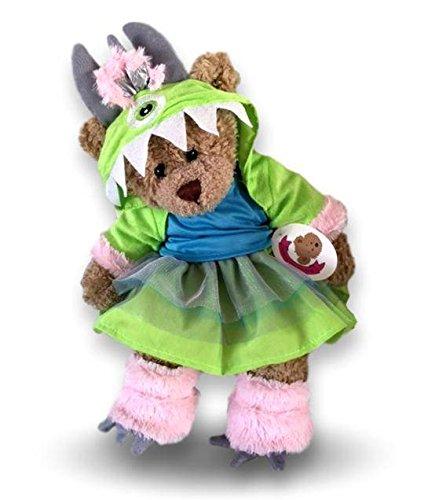 Build your Bears Wardrobe Teddybär-Kostüm Monster AG, 38 cm