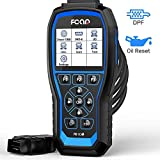 NEXAS Heavy Duty Truck Code Reader F506 PRO Enhanced Full-Systems OBD2 Scan Tool for DPF Reset & Regeneration and Diesel OBD Oil Reset with Engine ABS SRS Smoother for Truck and Car[Upgrade Version]