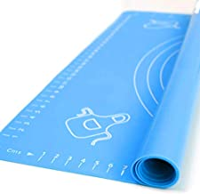 Extra Large Silicone Baking Mat for Pastry Rolling with Measurements, Liner Heat Resistance Table Placemat Pad Pastry Boar...