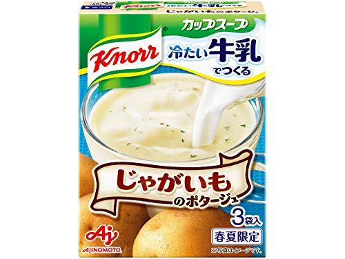 クノール カップスープ 冷たい牛乳でつくるじゃがいものポタージュ 17.4g×3袋×5箱