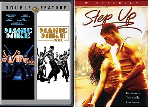 The Channing Tatum Collection - Magic Mike, Magic Mike XXL & Step Up 3-DVD Movie Bundle