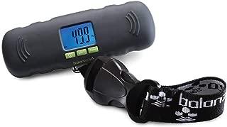 MINI USB Rechargable Digital Luggage Scale Capacity with Backlight Display, BZ400U 5 years,Black,One Size