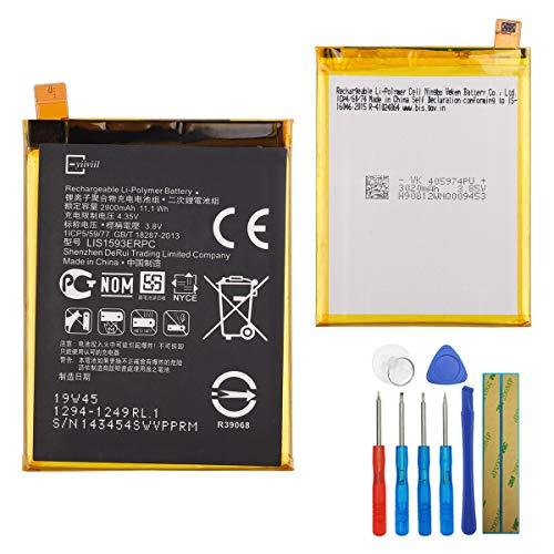 Nueva batería de reemplazo de polímero de Litio LIS1593ERPC Compatible con Sony Ericsson Xperia Z5 E6653 E6683 SO-01H SOV32 Xperia Z5 Dual