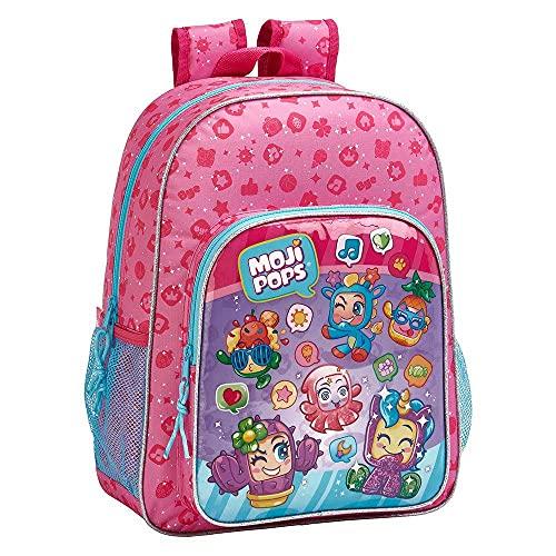 MochilaEscolar Niños de MojiPops Oficial, 330x140x420mm