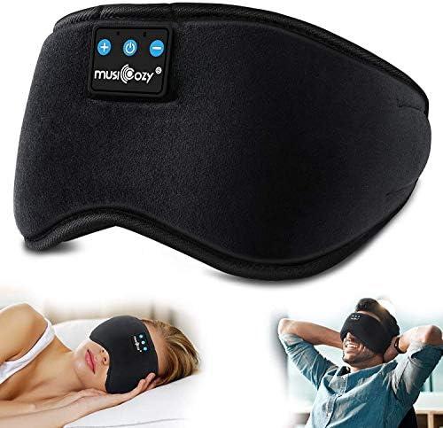 MUSICOZY Sleep Headphones Bluetooth Sleeping Headphones Eye Mask for Women Men Unisex Gift Wireless product image