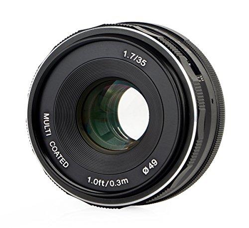 Meike lens, 35 mm F1.7 voor Micro 4/3,