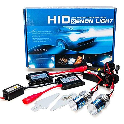 ZGMA H11 Automatique Ampoules électriques 35W 3200lm Xénon HID Lampe Frontale For Honda/Toyota White