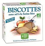 MOULIN DU PIVERT Biscottes à la farine Bise sans sel sans sucres 270G Bio -