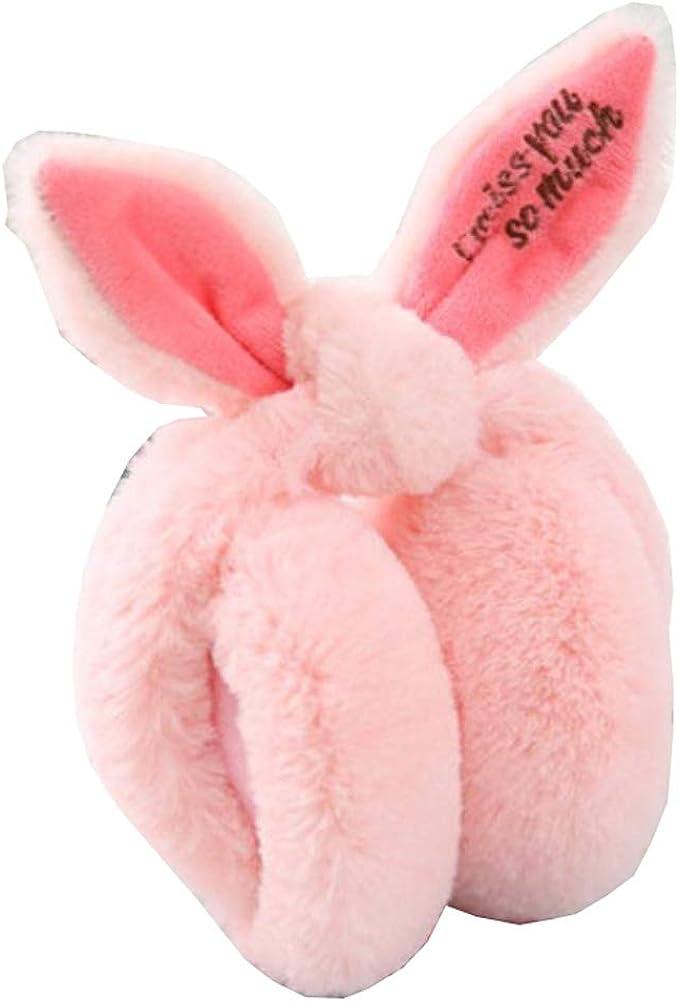 Cute Animal Soft Earmuffs Winter Warm Outdoor Ear Covers Headband Fur Ear warmer,#B12