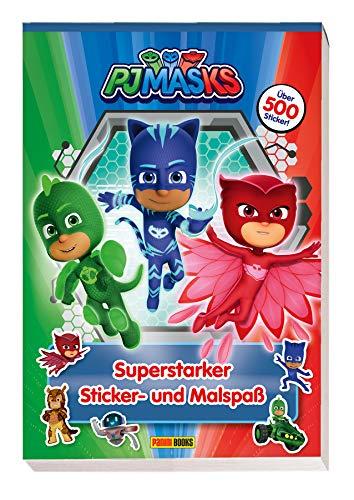 PJ Masks: Superstarker Sticker- und Malspaß: über 500 Sticker