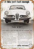 Alfa Romeo Car Blechschilder Vintage Metall Poster Retro