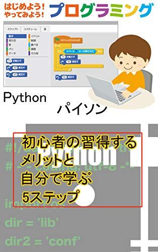 Python(パイソン)初心者の習得するメリットと自分でマナブ5ステップ: プログラミングでプログラマーを目指すならここからチャレンジ