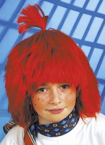 Orlob Karneval GmbH Perruque pour Enfants Moritz, Rouge, polisson, Fille, Coiffure Max Carnaval Perruque