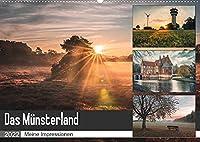 Das Muensterland - Meine Impressionen (Wandkalender 2022 DIN A2 quer): Meine schoensten Motive aus dem Muensterland (Monatskalender, 14 Seiten )