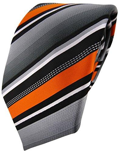 Corbata de diseño a rayas de TigerTie; 8 cm, varias versiones disponibles