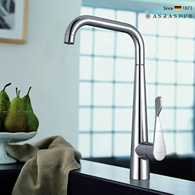 CZOOR Küche Wasserhahn Wassertank Waschen Gemüse Waschtisch Armatur Waschbecken Universal Rotary Hei kaltes Wasser