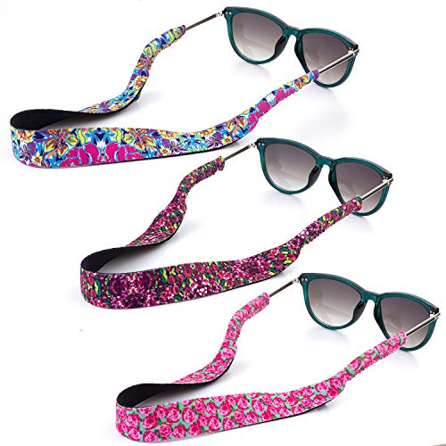 YR Floral Pattern Sunglass Straps, Soft And...