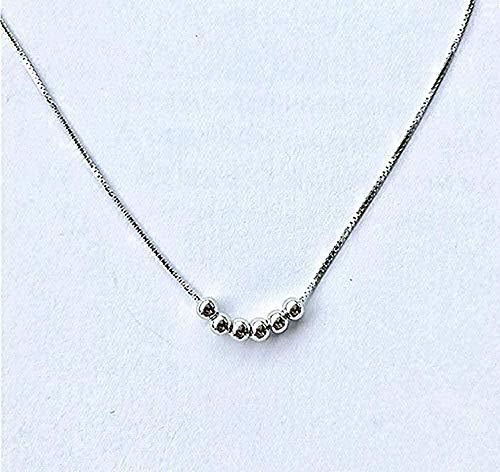 CXYCXY Co.,ltd Collar Collar Simple Collar De Cadena De Clavícula Elegante Generoso Collar De Perlas para Regalo De Mujer